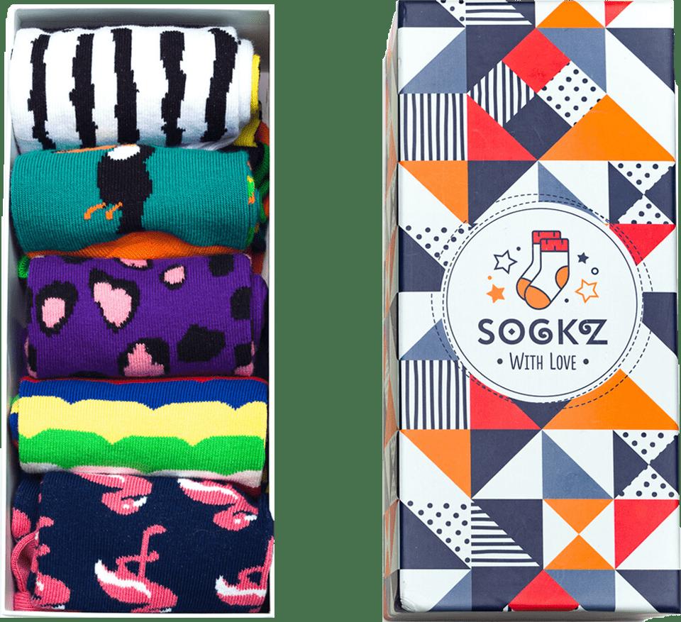 Multi-color Socks